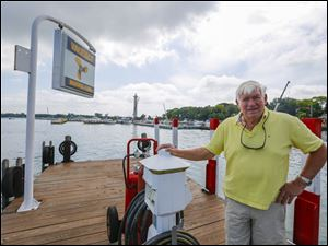 Marv Booker, owner of Boardwalk and other businesses at Put-in-Bay.