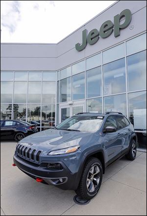 U.S. dealers sold 44,609 Jeeps in June, setting a new record for the month. Large and small SUVs seem to be in demand.