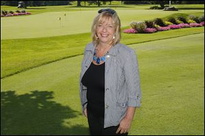 Carol Gibbs has been working at the LPGA tournament since 1990 and this year is the Volunteer Tournament Chairman.