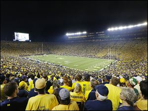 The Big House in Ann Arbor reached record attendance figures on Sept. 7, 2013. Michigan has reigned as college football's attendance leader for 39 of the past 40 years. However, a trend of declining student ticket sales has hit hardest at Michigan.