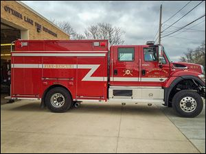 Whiteford Township paid cash for its  new fire and rescue truck, thanks to a 1-mill fire levy that funded the nearly $400,000 purchase. The truck en­hances the de­part­ment's abil­ity to fight field fires.