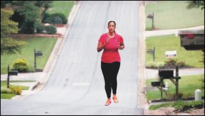 Bianca Cooper can run again, something she used to enjoy a lot in her Marietta, Ga., subdivision before her stroke last year at age 29.