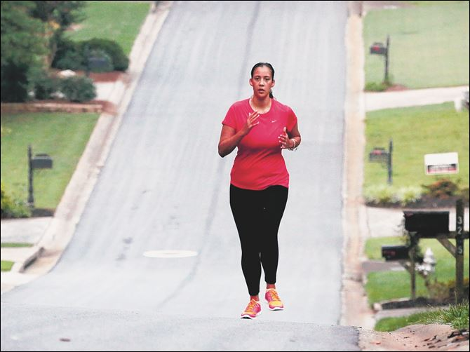 LIFE HEALTH-EARLYSTROKE 1 Bianca Cooper can run again, something she used to enjoy a lot in her Marietta, Ga., subdivision before her stroke last year at age 29.
