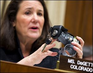 In April, Rep. Diana DeGette (D., Colo.) of a House subcommittee grilled CEO Mary Barra over the ignition switch that has led to at least 13 deaths, more than 50 crashes, and a huge headache for GM.