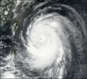 Typhoon Neoguri churns toward Okinawa and southern Japan on today.