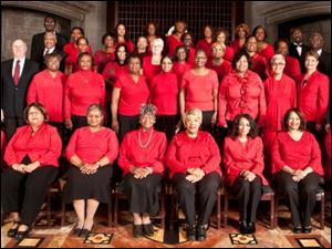 Detroit's Sacred Heart Choral Ensemble will perform a free concert at 6 p.m. Sunday in St. Martin de Porres Church, 1119 W. Bancroft St.