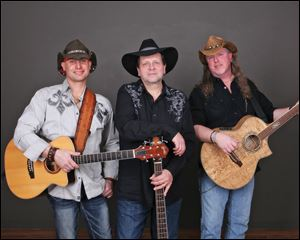 Rodney Parker and the Bourbon Cowboys play Wednesday at the Roadhouse in Richfield Center.