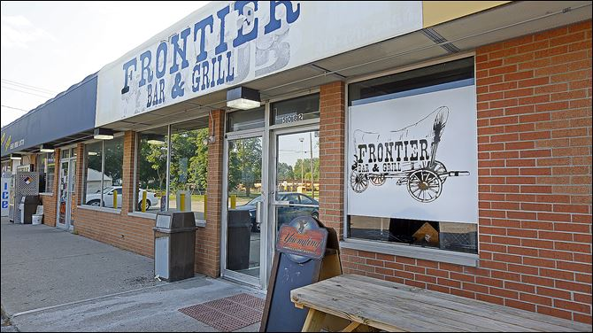 Frontier Bar & Grill located at 5082 Douglas St. on July 2, 2014.