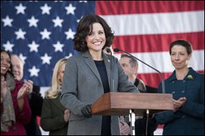 Julia Louis-Dreyfus was nominated for an Emmy Award for best actress in a comedy series for her role in HBO's 'Veep.'