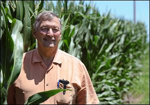 Neal Bredehoeft of Alma, Mo., a corn and soybean farmer, supports his state's effort to make farming a right. The agricultural industry wants farming rights to be written into law, alongside the freedoms of speech and religion.