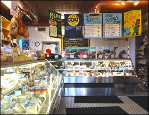Founded in 1982, Zingerman's Deli is now known internationally for its many huge and creative sandwiches.