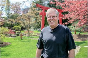 Rod Noble, executive director of  the arboretum and garden, wants to raise $50,000 for educational programs.