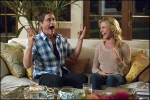 Rob Lowe manages a few laughs in 'Sex Tape.'
