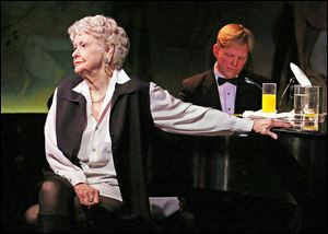 Stritch died Thursday at her home in Birmingham, Mich.