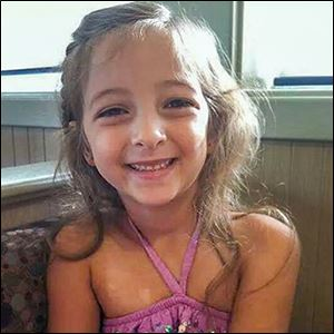 Olivia Cline, 5, likely died of smoke inhalation in the Friday morning fire, officials said.