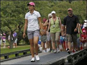 Plenty of fans followed Lydia Ko on Sunday as the 17-year-old won the Marathon Classic. Organizers don't release attendance figures but said the crowds were larger than last year.