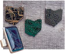 Circuit-board-jewelry-pieces-from-jeweler-Jaci-Riley