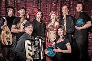 Raq the Casbah will perform Friday at Ye Olde Durty Bird.