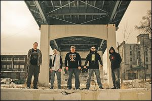 Toledo metal band Truth Ascension plays Saturday at Mainstreet.