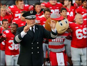 Jonathan Waters took over as Ohio State band director in 2012.