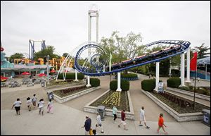 Many coasters at the amusement park, like the Corkscrew, have been mentioned for rechristening, but officials might just build a new ride to honor LeBron James.