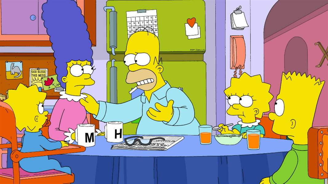 TV-Critics-Watch-The-Simpsons