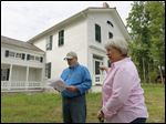 Toledo  Metroparks spokesman Scott Carpenter and Sue McHugh talk about the Lathrop House, once a safe haven for slaves and part of the Underground Railroad. It will officially open Saturday.