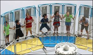 The rides are a big draw at the Wood County Fair in Bowling Green, which  runs through Aug. 4.