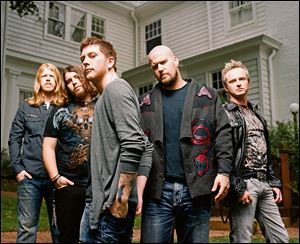 National-recording act Saving Abel will play Sunday at Mainstreet.