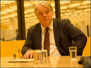 The late Philip Seymour Hoffman stars in 'A Most Wanted Man.'