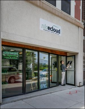 NiceCloud Personal Vapor Devices opened in September. There are at least 25 vape shops throughout the area.