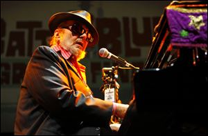 Rock & Roll Hall of Fame Inductee Dr. John performs at Guitar Center's Battle of the Blues in Los Angeles.