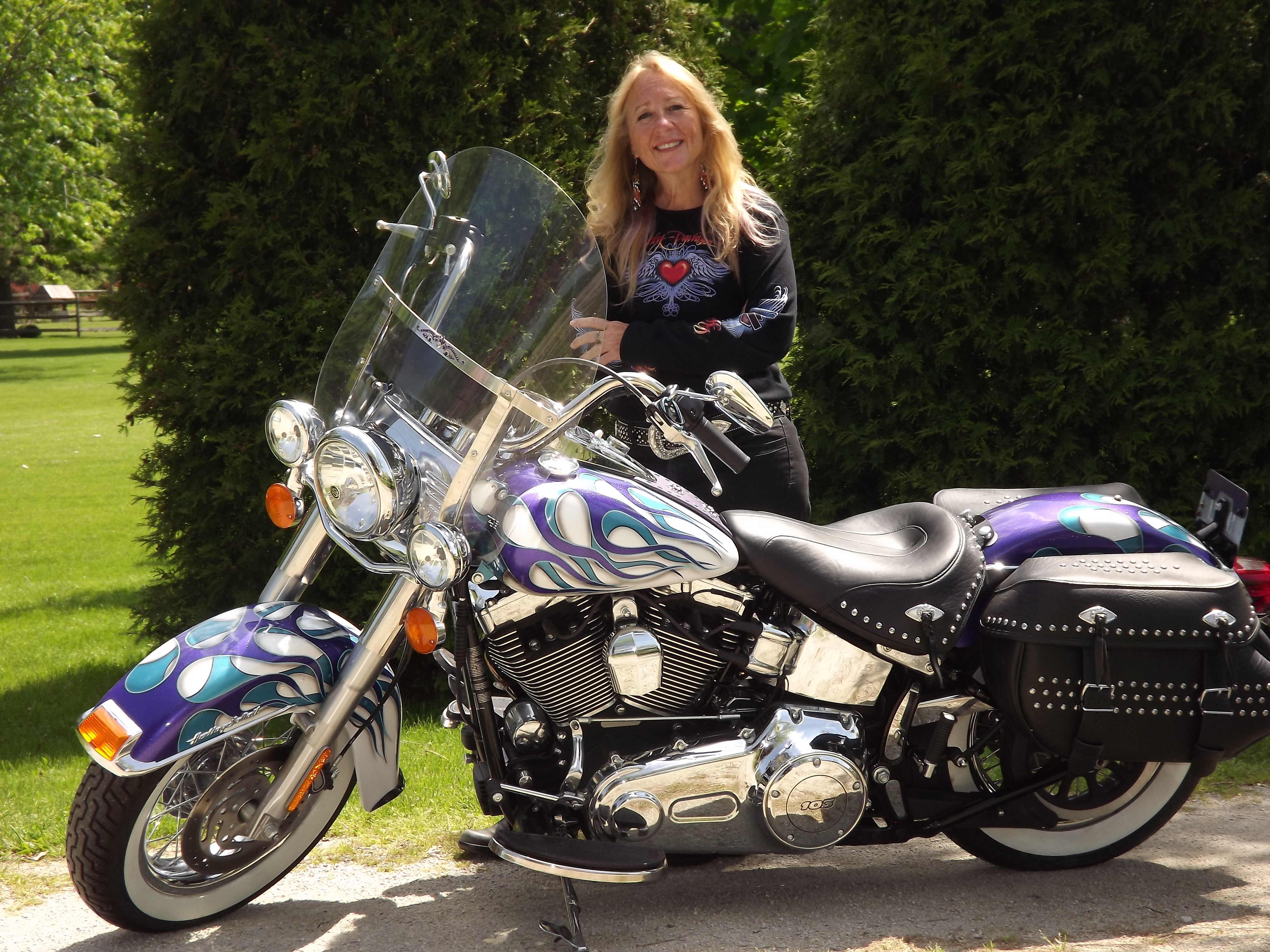 motorcycle club wind riding brown years motorcycles ride founder celebrates ms blade witw