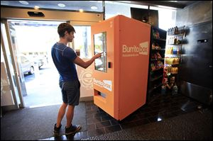 Vending machines are dispensing cupcakes, offering wardrobe advice,  and Jamba Juice.