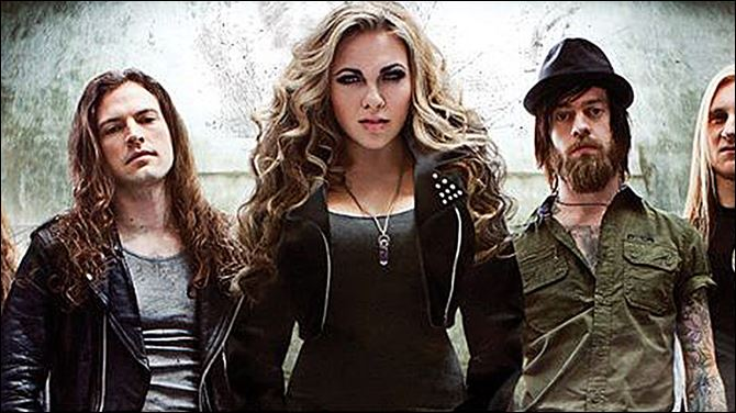 Canadian heavy metal band Kobra and the Lotus will play today at Frankie's Inner-City.