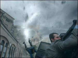 Richard Armitage in a scene from '‍Into the Storm.'