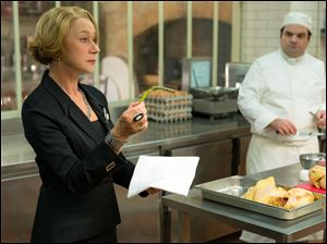 "Helen Mirren in a scene from ""The Hundred-Foot Journey."""