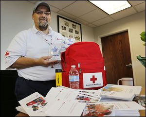 '‍We want to get people ready,' says Todd James, executive director of the American Red Cross of Hancock, Seneca, and Wyandot Counties.