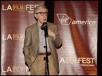 Woody Allen attends the premiere of