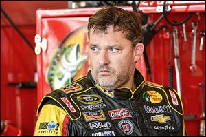 It is unknown if Tony Stewart will race this weekend at Michigan International Speedway.