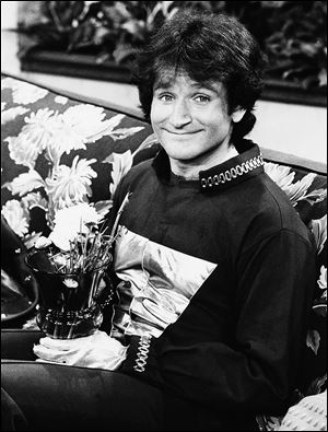 Actor Robin Williams on the set of ABC's '‍Mork and Mindy.' Mr. Williams had been battling severe depression before his apparent suicide Monday.