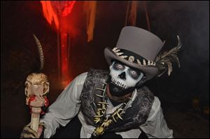 HalloWeekends at Cedar Point features different haunted attractions.