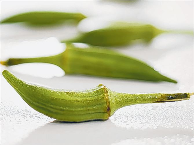 A slime-free appraoch to cookin A slime-free appraoch to cooking okra can be found in