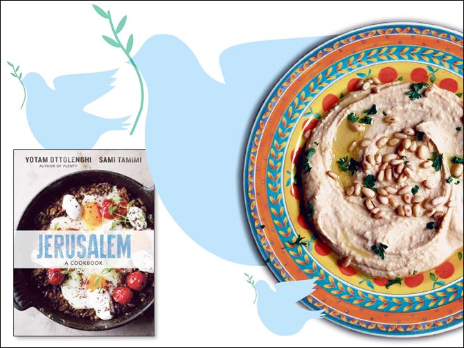 Hummus, a recipe in 'Jerusalem: A C Hummus, a recipe in 'Jerusalem: A Cookbook,' by Yotam Ottolenghi and Sami Tamimi.