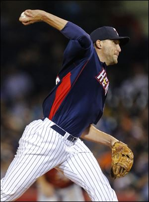 Mud Hens reliever Jim Johnson threw two scoreless innings Wednesday night.
