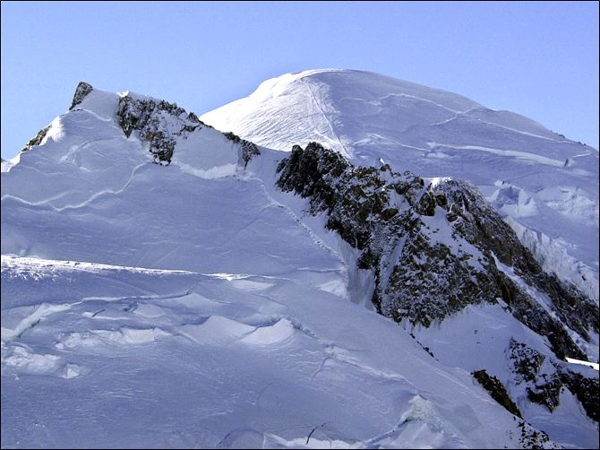 Mont Blanc, in addition to its primary peak, contains some 200 summits.
