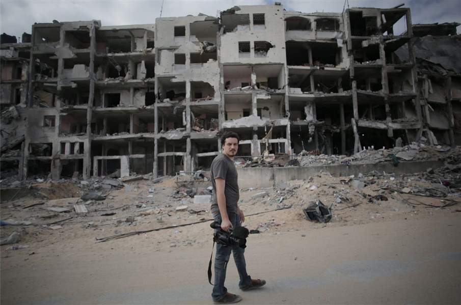 Mideast-Gaza-Journalist-Killed