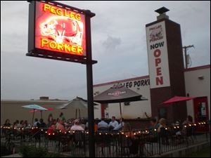 You'll find some of the best BBQ in Nashville at the Peg Leg Porker.
