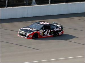 Kurt Busch during the NASCAR Sprint Cup Series Qualifying.