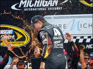 Jeff Gordon wins the 45th Annual Pure Michigan 400.